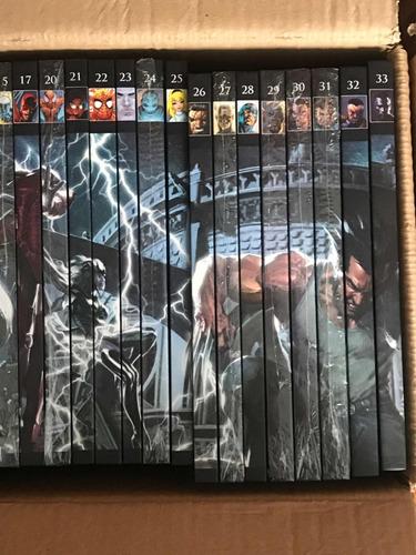 coleção de quadrinhos marvel