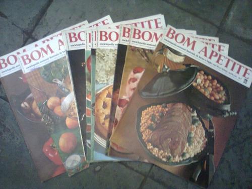 coleção de revistas bom apetite nº 1 ao nº 111