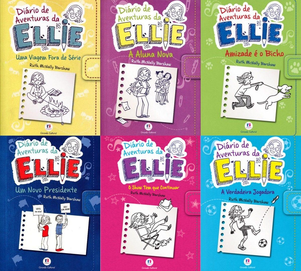 Coleção Diário De Aventuras Da Ellie 6 Livros - R$ 145,00 em Mercado Livre