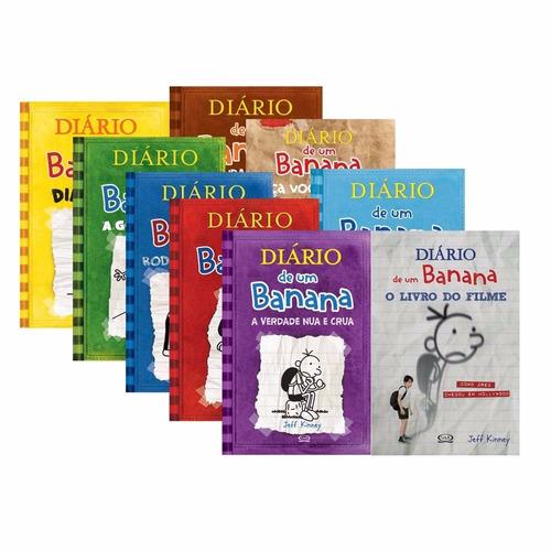 Coleção Diário De Um Banana (8 Volumes) - Lacrados - R$ 299,90 em Mercado Livre