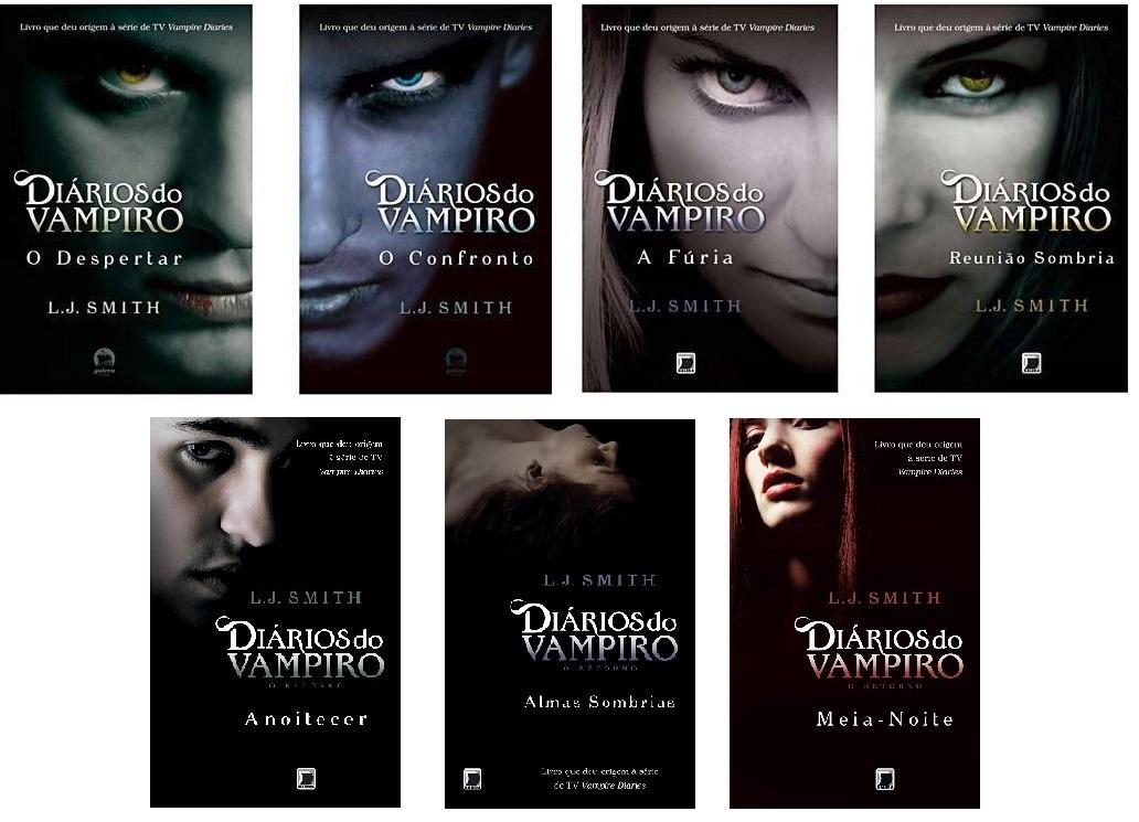 Resultado de imagem para diarios de um vampiro livros
