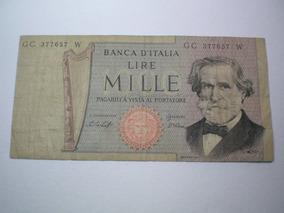 L 439 Lire Mille Banca D Italia 1000 R 1500 Cédulas E Moedas No