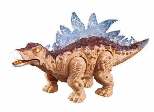 coleção dinossauros - estegossauro com som e luz - zoop toys