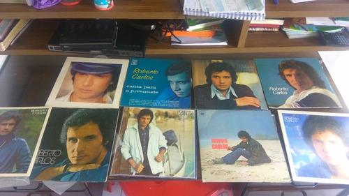 coleção discos de vinil roberto carlos