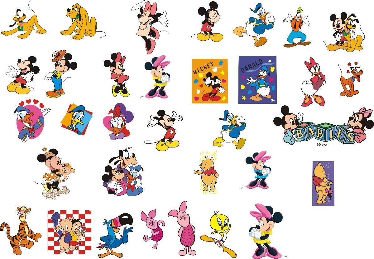 Coleção Disney Vetores Coredraw Personagens Desenhos Anim
