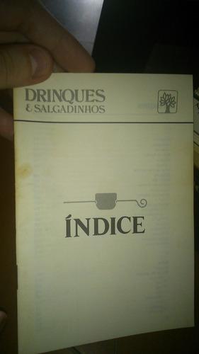 coleção drinques & salgadinhos da abril cultural - 1978