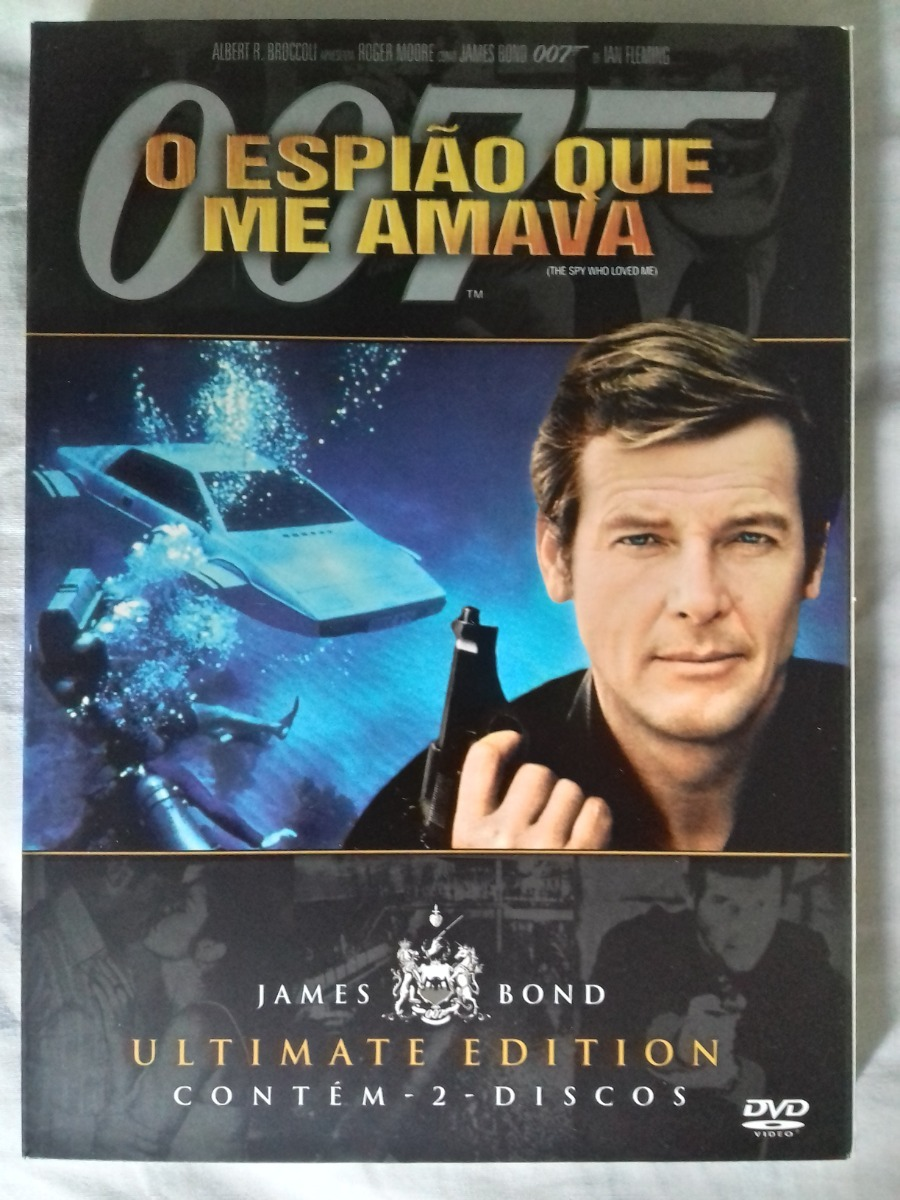 Colecao Dvd James Bond Ultimate Edition R 160 00 Em Mercado Livre