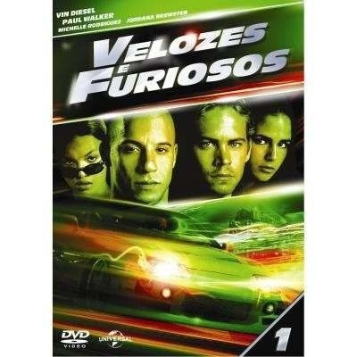 coleção dvd - velozes e furiosos - 3 filmes