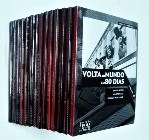 coleção folha clássicos do cinema - 14 vol. - usado