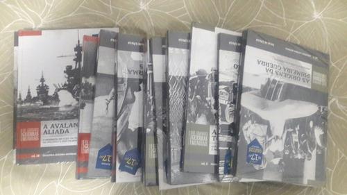 coleção folha grandes guerras mundiais (lacradas)