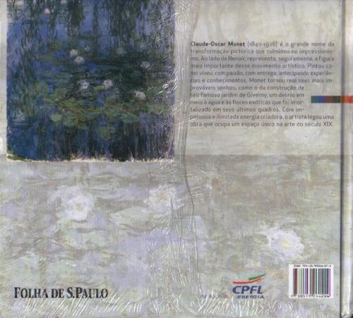 coleção folha grandes mestres da pintura nº 4 monet lacrada