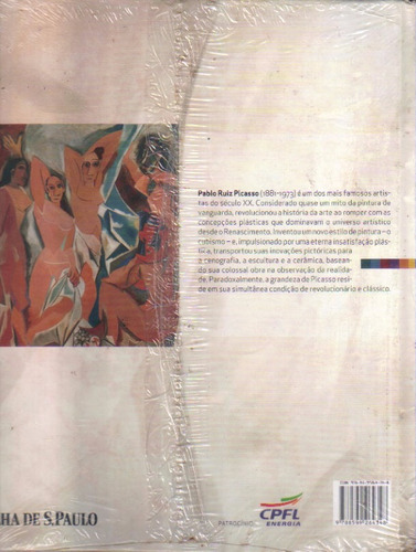coleção folha grandes mestres da pintura nº 6 picasso lacrad