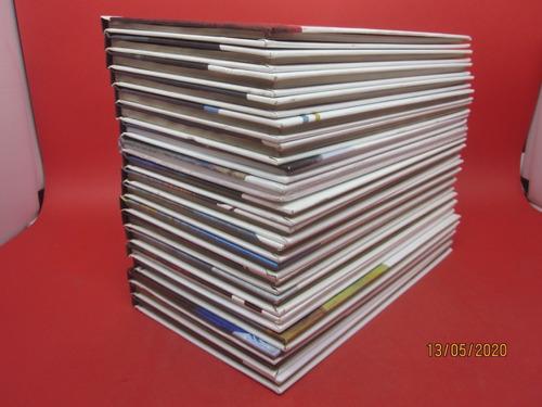 coleção folha grandes óperas 19 livros manon norma o guarani