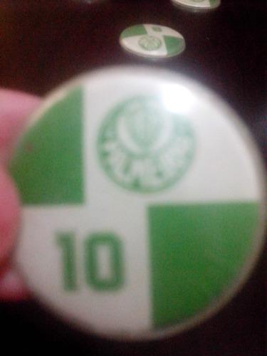 coleção futebol de botão palmeiras anos 80 - raridade!!!