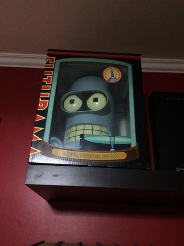 coleção futurama cabeça bender - dvd - raro - importado!