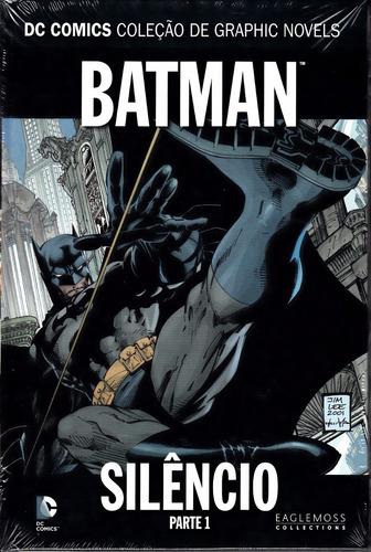 coleção graphic novels dc comics volume 1 batman silêncio 1