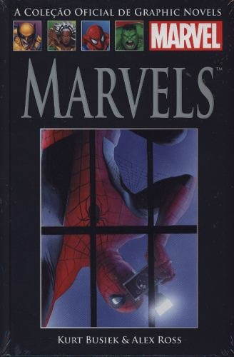 coleção graphic novels n* 08 marvels
