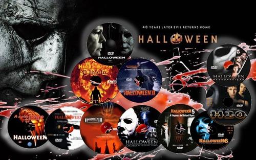 coleção halloween 11 discos 1978 - 2019  dublado e legendado