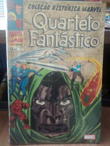 coleção histórica marvel - quarteto fantástico volume 01