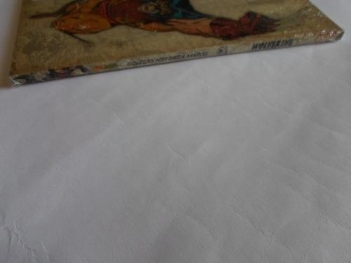 coleção histórica marvel wolverine n° 6 panini