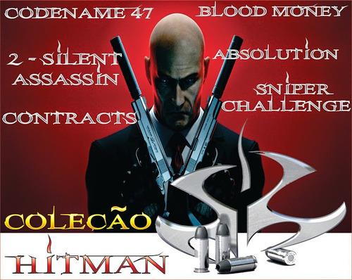 coleção hitman