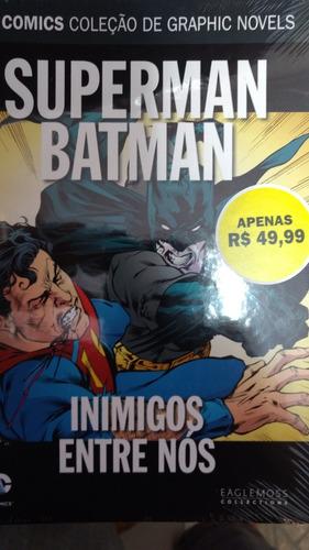 coleção hq dc comics superman batman n 40 inimigos entre nó