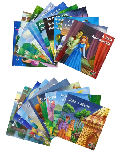 coleção infantil clássicos favoritos 20 livros - promoção