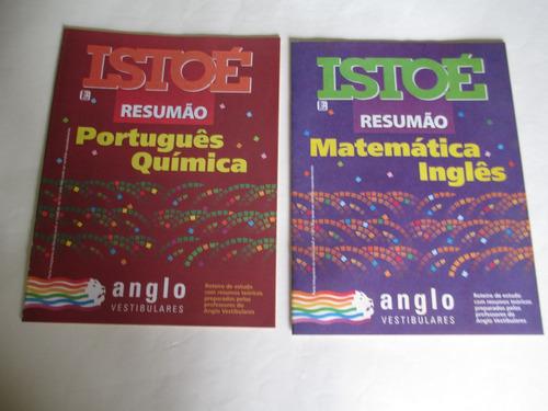 coleção istoé simuladão-cursinho-vestibular-anglo-matemática
