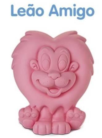coleção leão amigo boneco de vinil - maralex