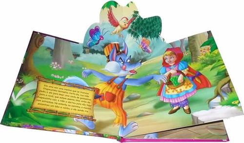 coleção livro almofadado um conto pop up clássicos - avulsos