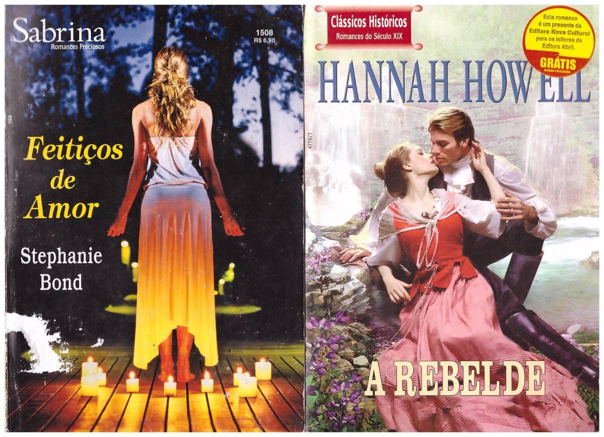 Coleção Livros De Romances Historicos - R$ 27,00 em