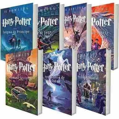 coleção livros harry potter 7 livros