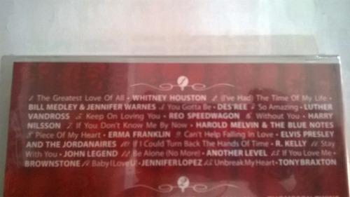 coleção love c/ 4 cds original lacrado cindi lauper  e mais.