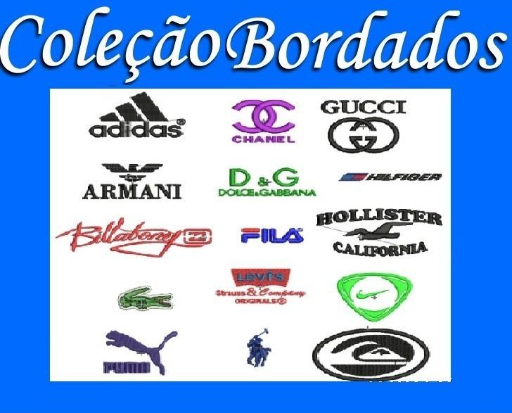 d25d309e053b Coleção Matriz Bordados Logo Marca Carro Nike Lacoste adidas - R$ 9,99 em  Mercado Livre