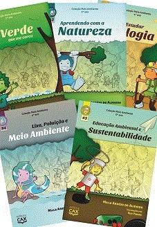 coleção meio ambiente de r$230 por r$200: educação ambiental