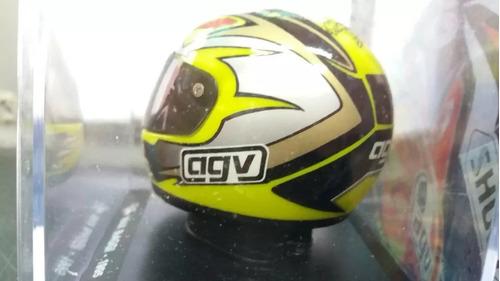 coleção melhores capacetes moto gp ed 07 max biaggi 1995