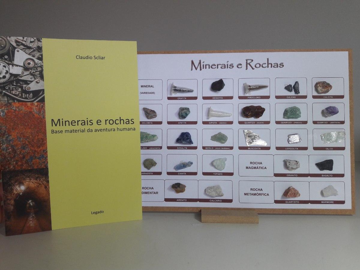 3144a9fbe64 Coleção Minerais E Rochas Com Livro - R  39