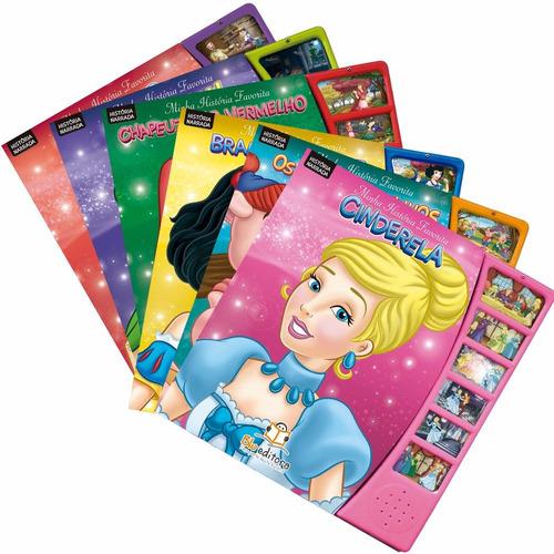 coleção minha história favorita 6 livros clássicos infantis