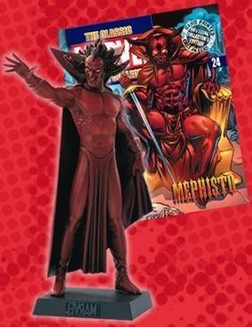 coleção miniatura super-heróis marvel - vol.24 mefisto