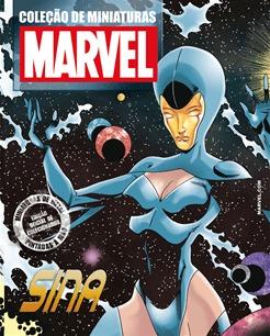 Coleção Miniaturas Marvel Edição 183 Sina - R$ 104,97 em Mercado Livre