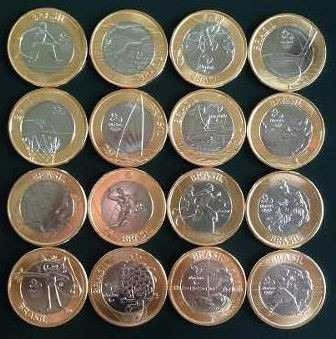 coleção moedas das