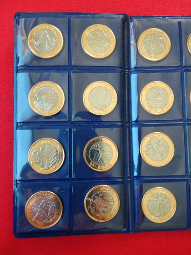 coleção moedas das com