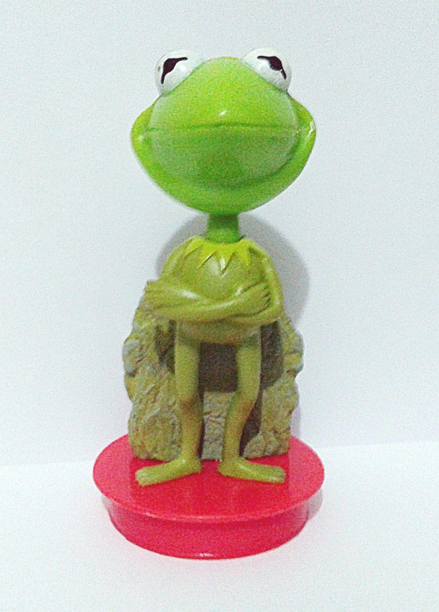 coleção muppets baby disney o sapo kermit caco 7 cm oficial r 22