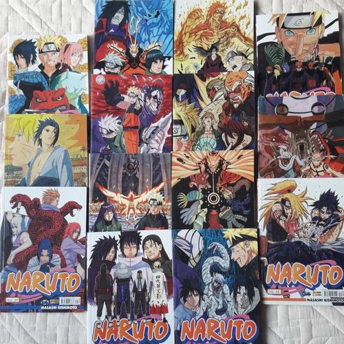 coleção naruto volumes 28 ao 51