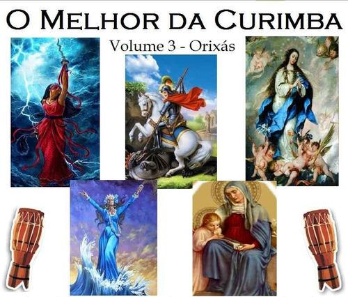 coleção o melhor da curimba c/8 cds de pontos da umbanda
