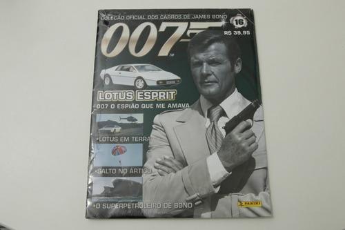 f985793ec0ef Coleção Oficial Dos Carros De James Bond Ed.16 Lotus Esprit - R  64 ...