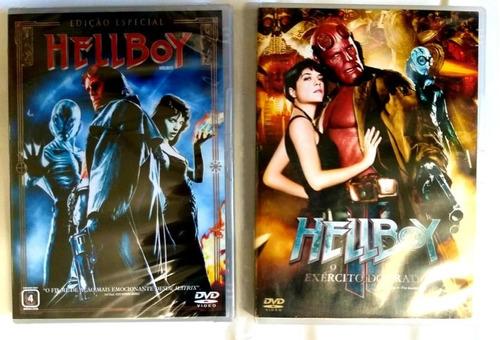 coleção original dos filmes hellboy 1 e 2