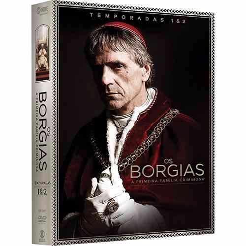 coleção os borgias 1ª e 2ª temporadas.