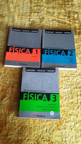coleção os fundamentos da física ( ramalho )