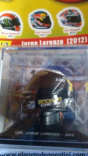 coleção os melhores capacetes moto gp jorge lorenzo  ed 01